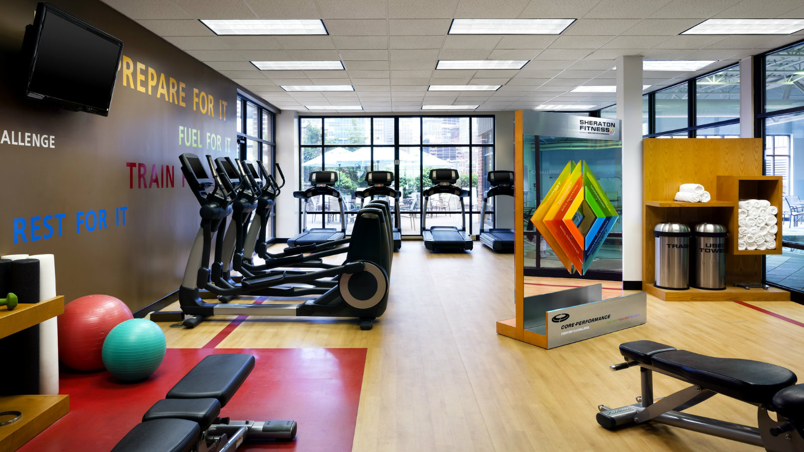 Fitness Center | Sheraton Pittsburgh Station Square