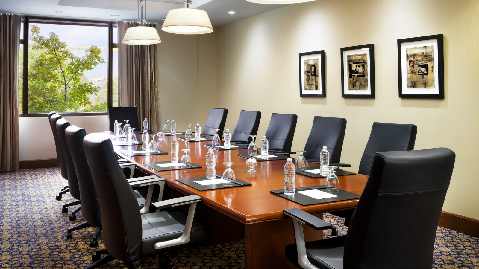 Sheraton Pittsburgh Hotel at Station Square Group Meeting Room